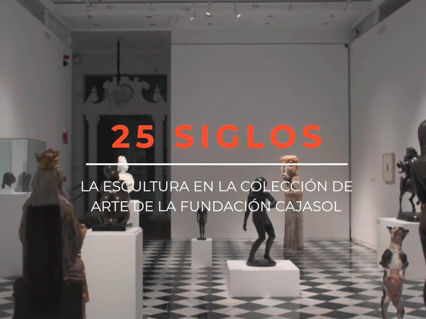 Exposición escultura Huelva Cajasol El Comercial