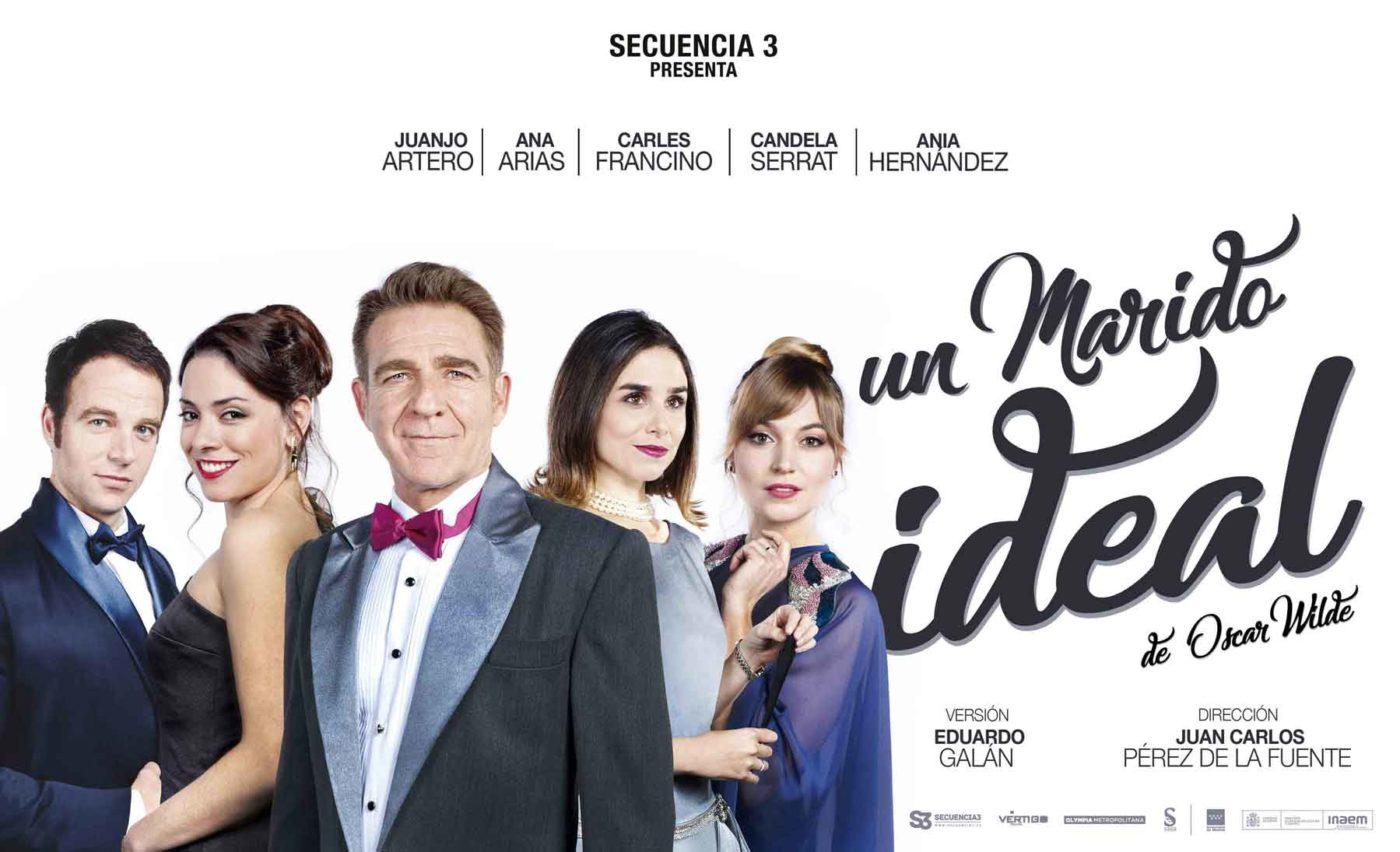 Un marido ideal, Almonte, teatro, Huelva, Eduardo galán