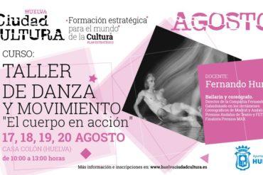 Taller de Danza y movimiento Huelva Fernando Hurtado Verano 2020