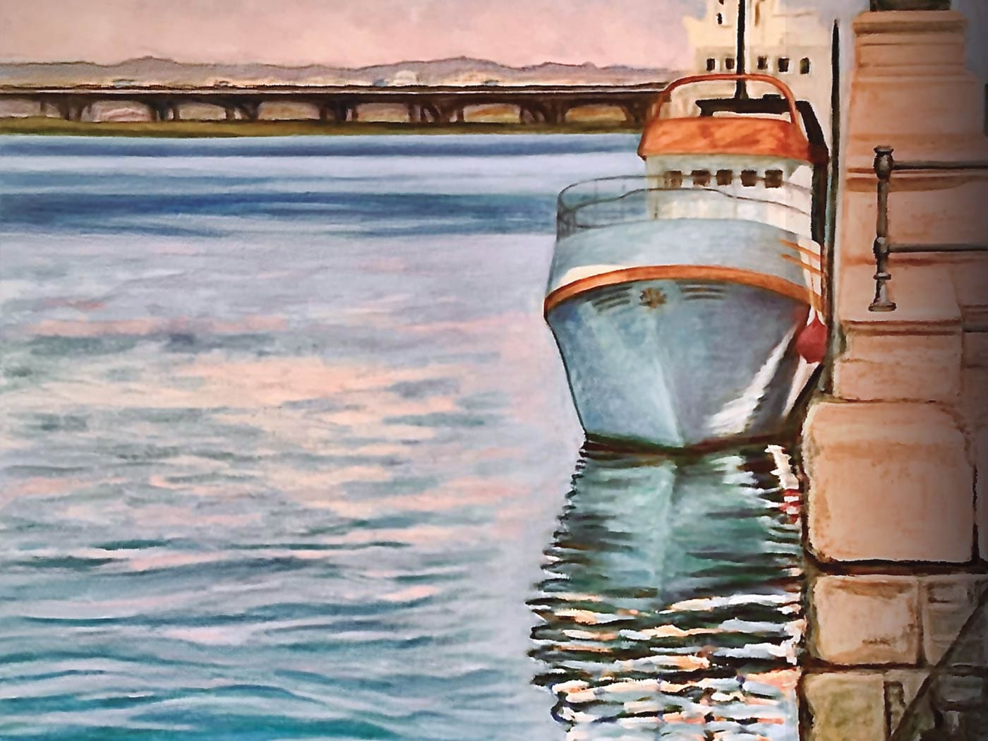 Exposición de pintura El agua como elemento compositivo Huelva
