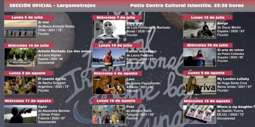 largometrajes festival cine islantilla 2021