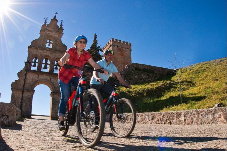 ruta bici eléctrica Aracena