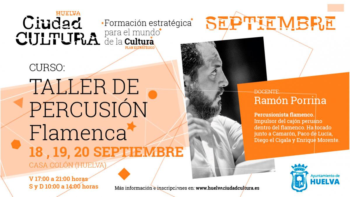 taller percusión flamenca curso 2020 verano