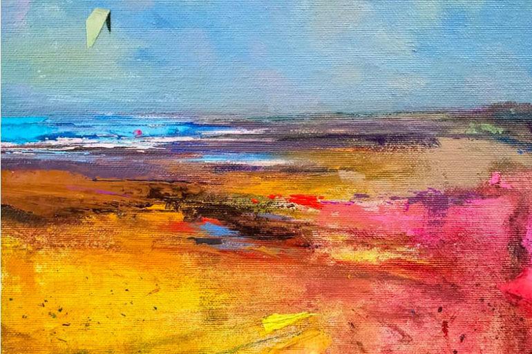 Exposición de pintura de Andrés Moreno en Galería Seda Ayamonte + al sur