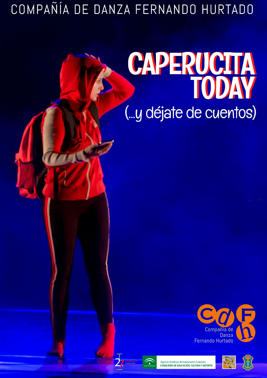 caperucita today danza teatro Huelva octubre 2020 Fernando Hurtado