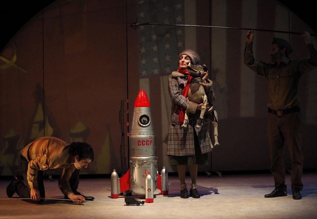 Laika teatro títeres autómatas Valverde del Camino 18 de septiembre 2020