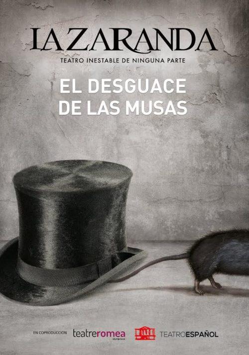el desguace de las musas la zaranda Huelva Teatro Septiembre Gabino Diego 2020