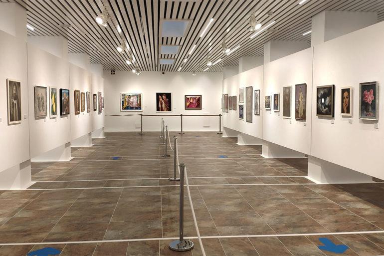 Exposición de pintura Todos Crean sala de la Provincia