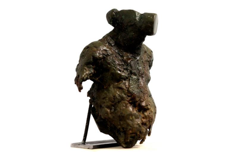 Exposición Presiones y Sobrepesos Huelva Andrés J. Naranjo escultura dibujo Espacio 0