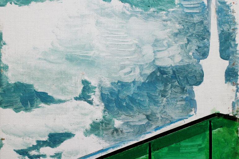 exposición todo florece de Miguel Gómez Losada óleos Espacio 0 óleo