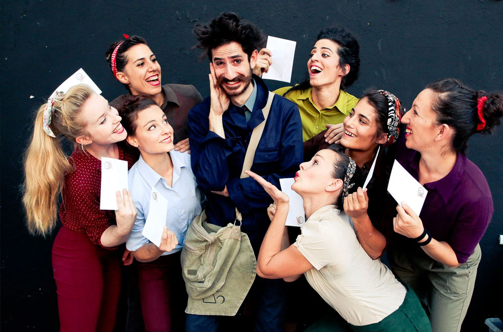Express Faltan7 Valverde del Camino Teatro Circo Acrobacias 2020