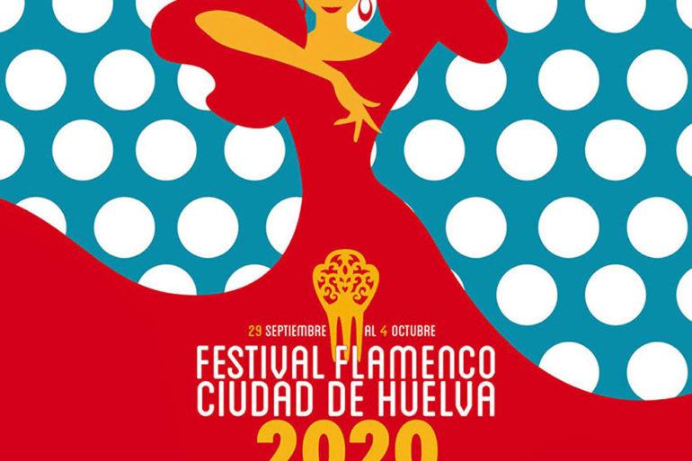 Festival Flamenco Ciudad de Huelva 2020 del 29 de septiembre al 4 de octubre, Vicente Amigo, Capullo de Jerez, Sandra Carrasco