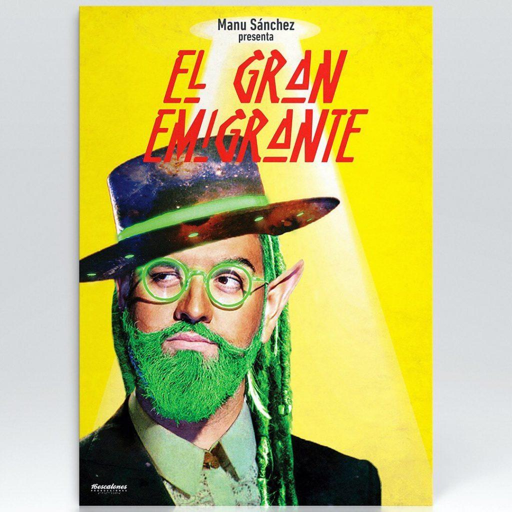 Manu Sánchez El Gran Emigrante en Huelva Octubre Monólogo Humor