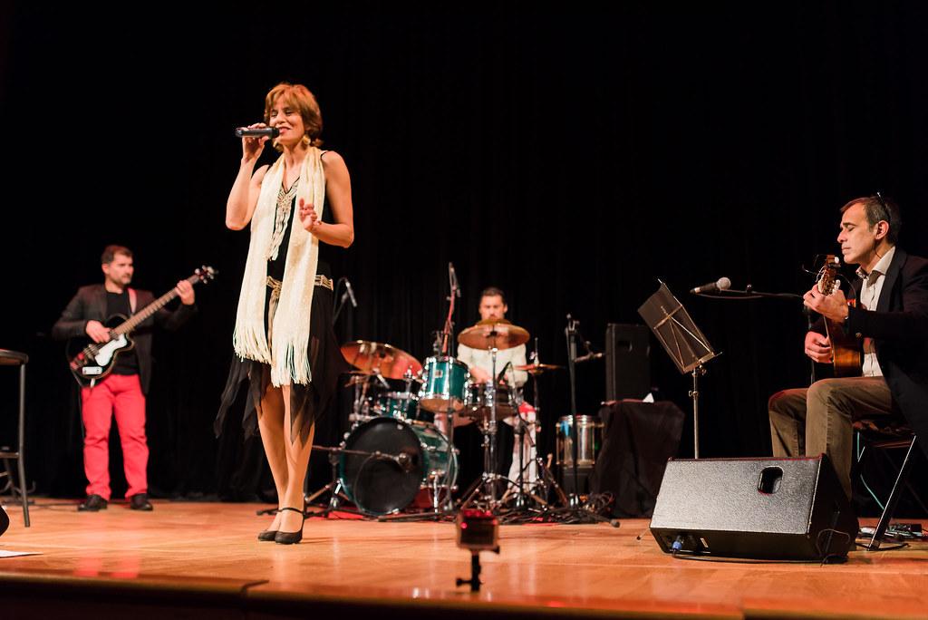 Marta Santamaría en concierto Bossa Nova Corrales Huelva