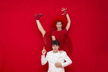 La Nördika Rojo Estandar Circo acrobacias teatro danza Bellavista Aljaraque Diciembre Huelva