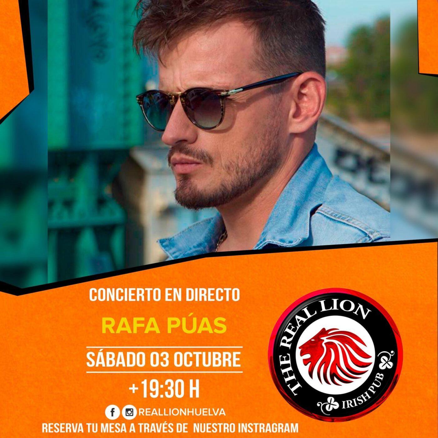 Rafa Púas Concierto Real Lion Huelva Octubre 2020