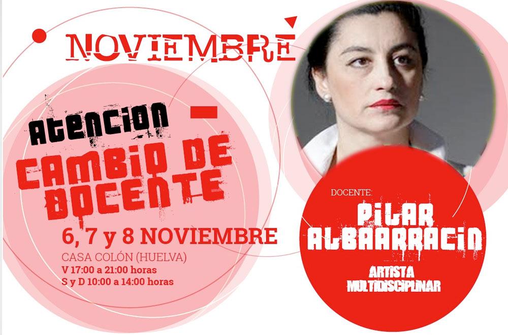 taller Reflexiones y ayeos con Pilar Albarracín instalaciones, performance, acciones urbanas, happening