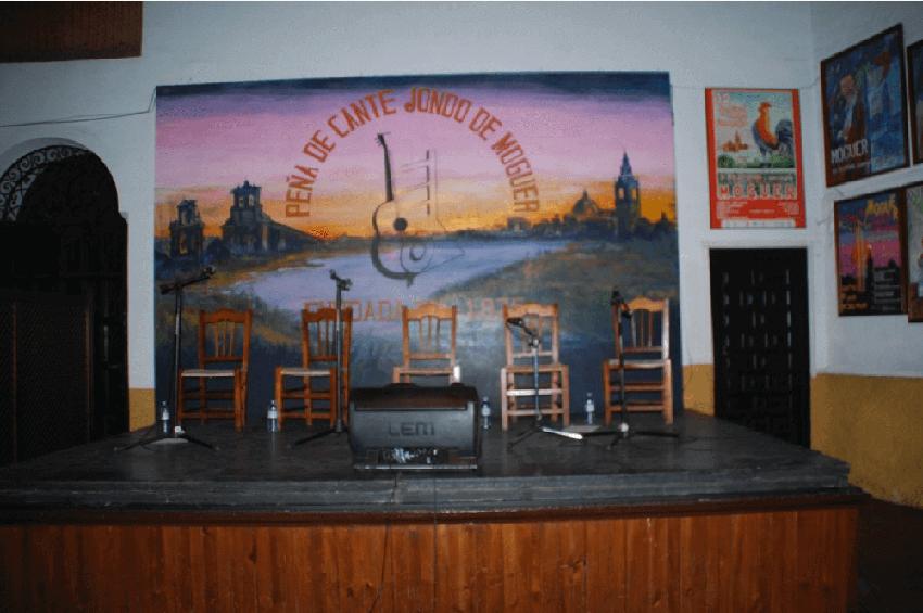 Taberna Flamenca en Peña de Cante Jondo de Moguer