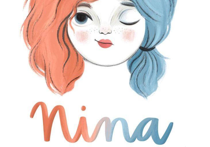 Cartel Nina danza niños en Cartaya Octubre 17 de octubre