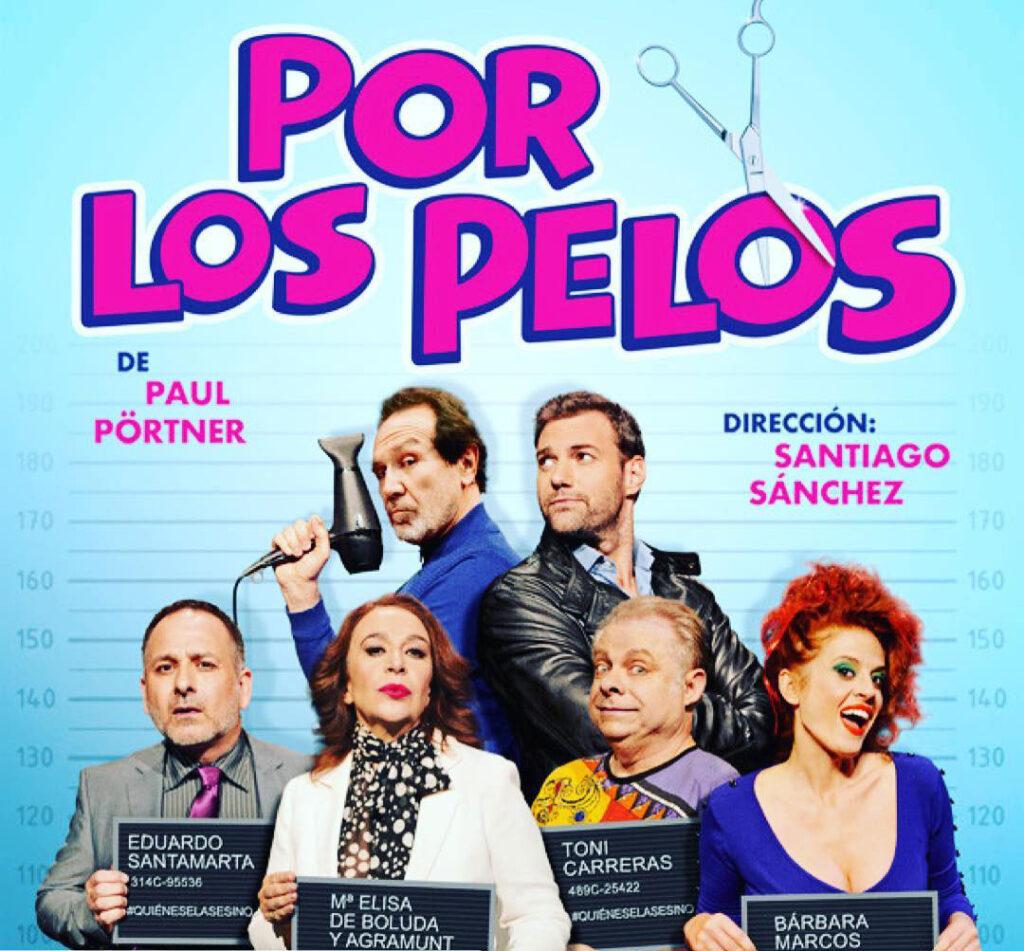 Teatro comedia Trigueros 12 de noviembre por los pelos