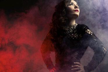 Antonia Ferrà en concierto Nia, octubre cuarteto jazz Huelva 2020