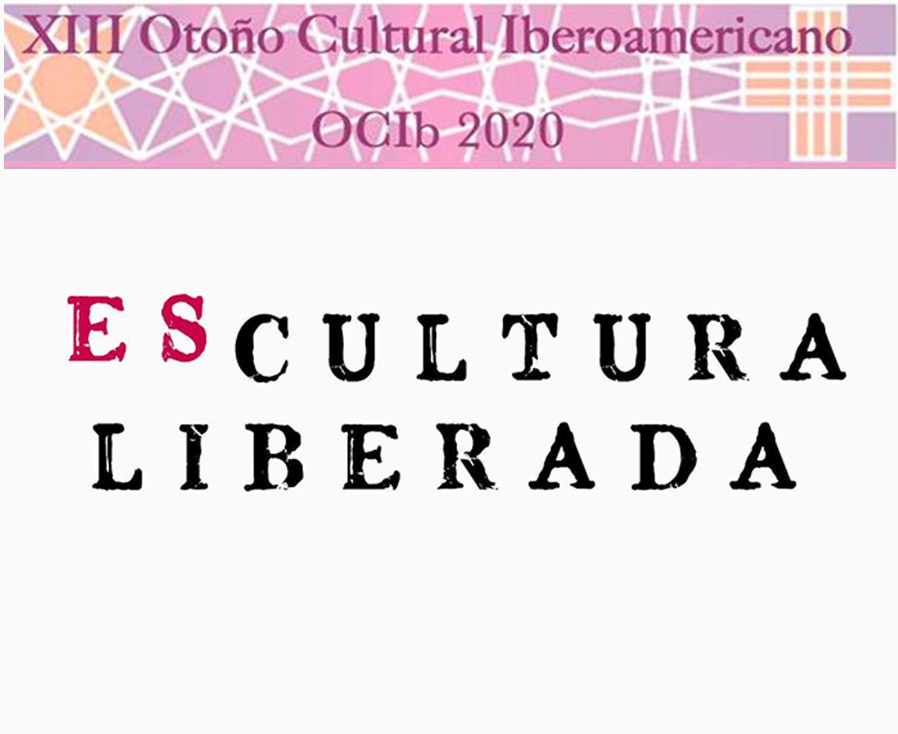 Escultura liberada, exposición colectiva OCIB2020 Huelva Cultura Octubre 2020