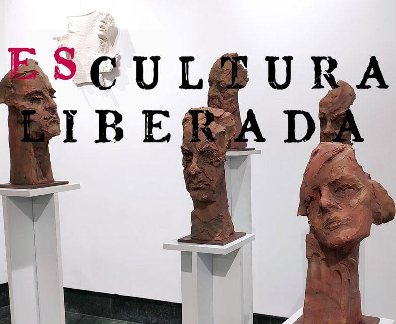 Escultura liberada, exposición colectiva OCIB2020 Huelva Cultura Octubre 2020 Otoño Cultural Iberoamericano