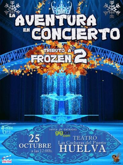 frozen 2 cocheras del puerto Huelva niños musical