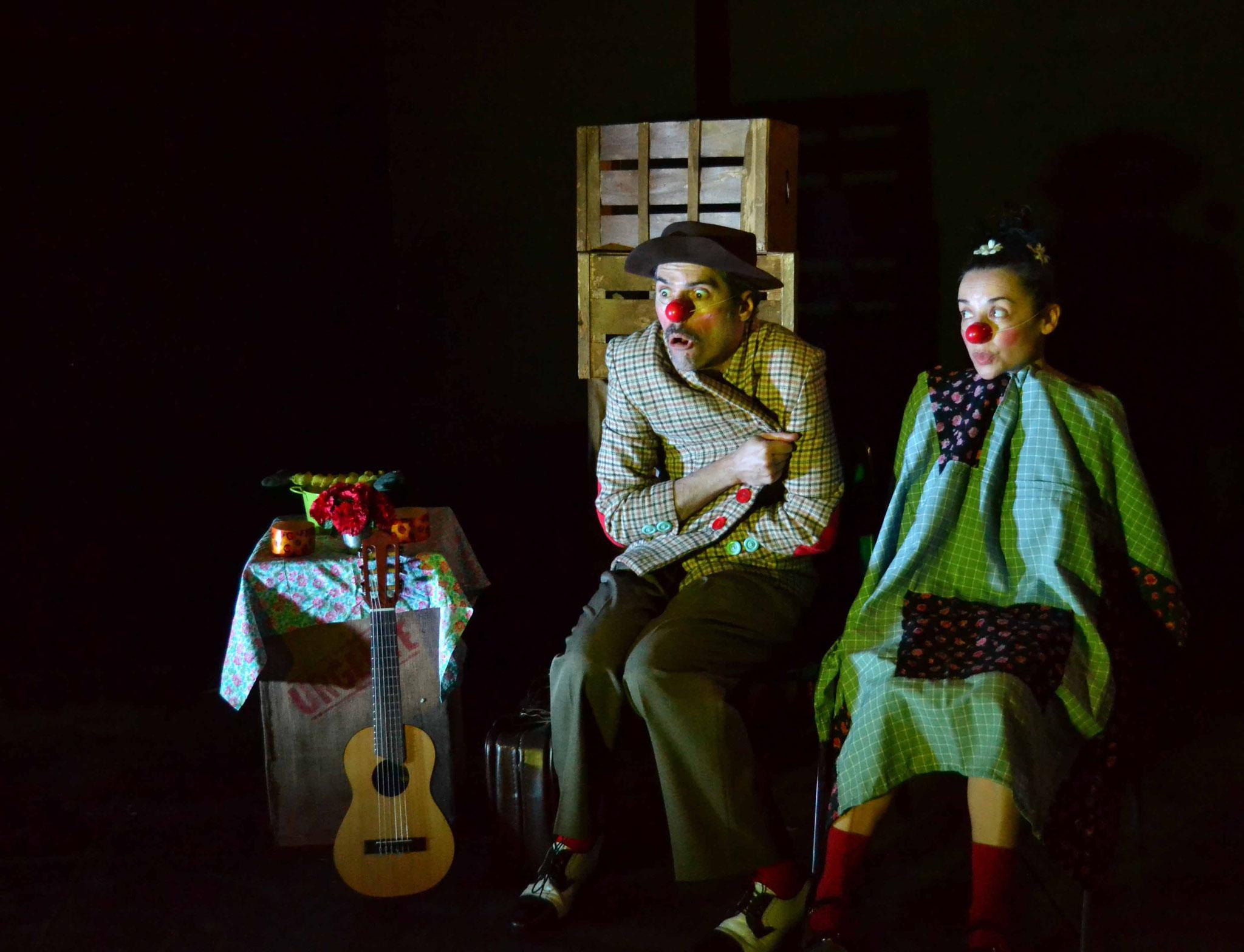 Clown sin tierra, un espectáculo con mucho clown para disfrutar en familia