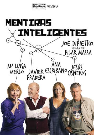 Mentiras inteligentes Teatro Cartaya Jesús Cisneros octubre 2020