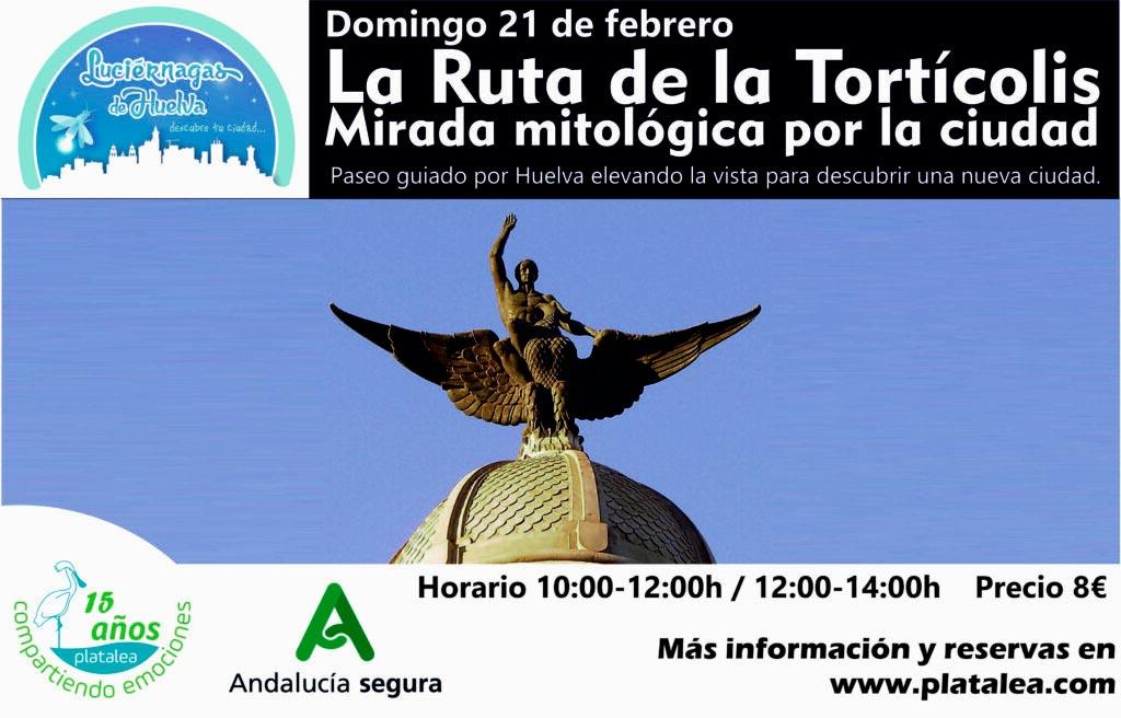 Visita Tortícolis por Huelva con Platalea Actividades Cultura