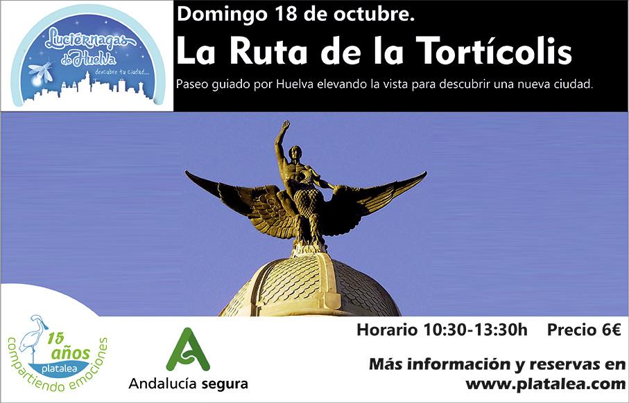 Ruta de la tortícolis Patrimonio arquitectónico de Huelva arquitectura cultura, visita guiada 2020 octubre
