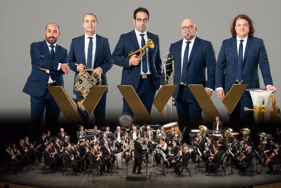 Spanish Brass Huelva Banda sinfónica Municipal 6 de Octubre Casa Colón