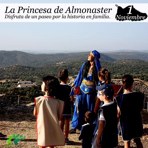 Ruta teatro princesa Almonaster 1 noviembre 2020 niños