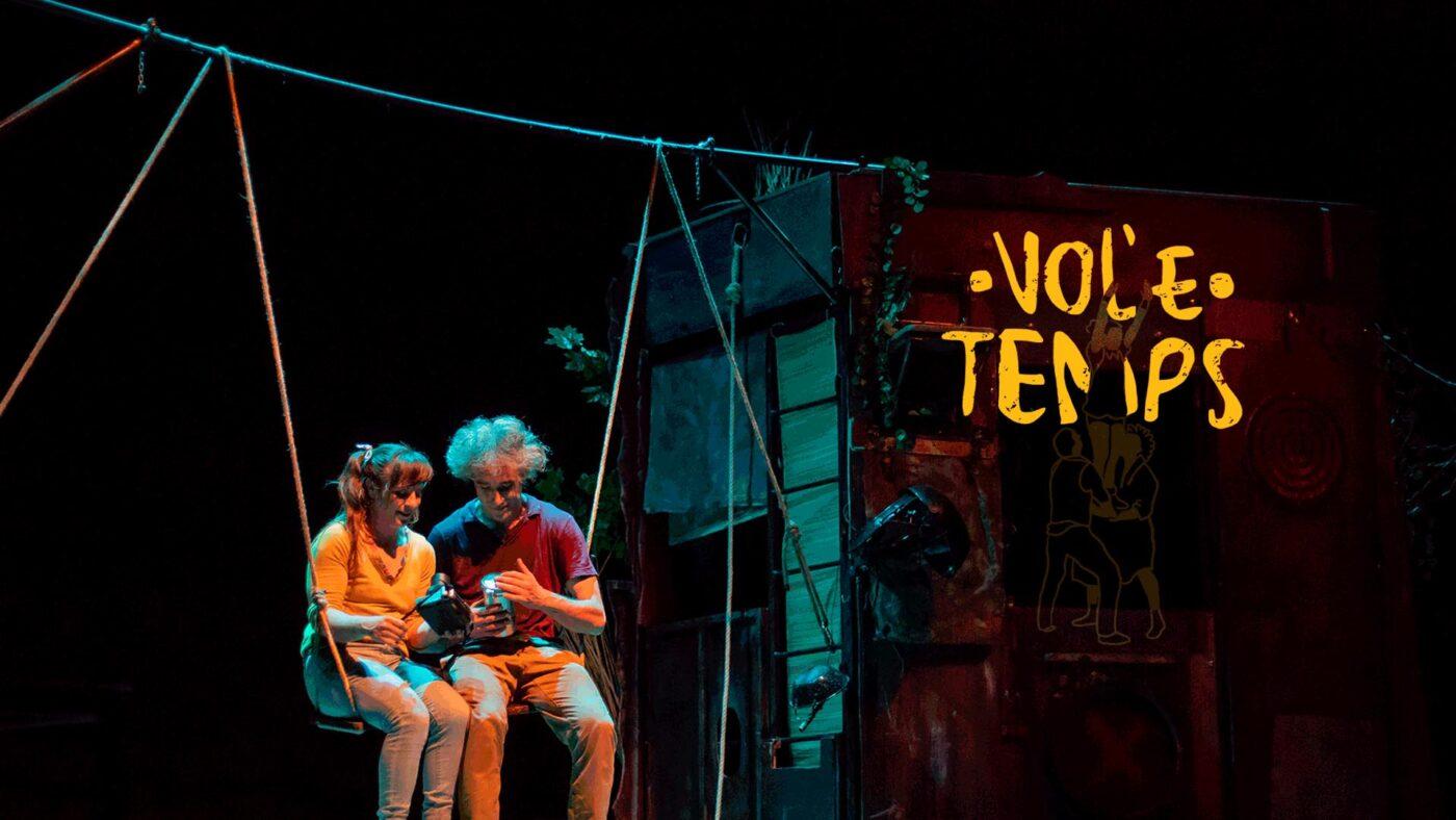 DistanS circo infantil en las cocheras del puerto en Huelva