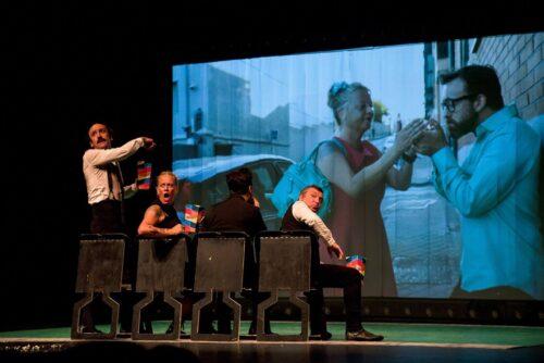 Gag Movie de la compañía Yllana Teatro en Punta Umbría