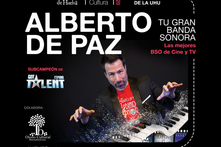 Alberto de Paz Universidad del Huelva Cantero Rock 2020 Noviembre Got Talent