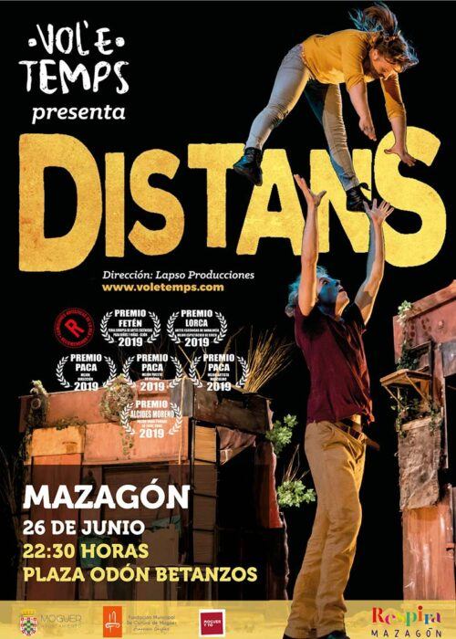 distans circo acrobacias mazagon 26 de junio 2021