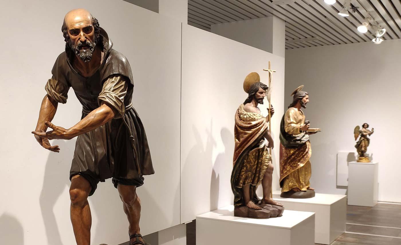 Exposición Sebastián Santos Creador de Imágenes noviembre 2020 arte sacro