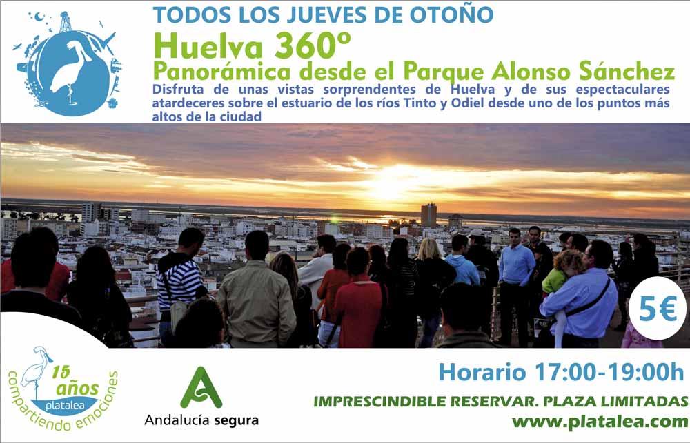 actividad vista panoramica Huelva Patrimonio Que hacer en Huelva 2020