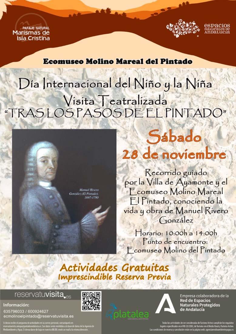 visita guiada gratuita Ayamonte teatro el pintado noviembre
