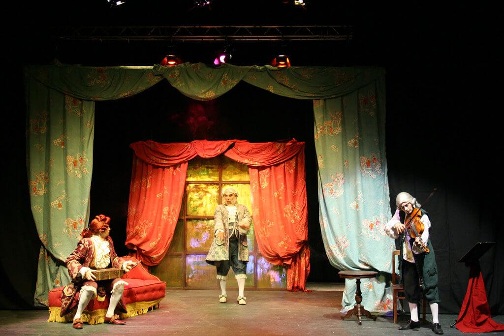 Estocolmo de Sindrome Clown, teatro que versiona los cuentos de Chéjov desde la carcajada