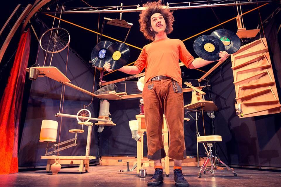 Mobil, La Guasa Circo-Teatro en Aracena, Navidad 2020