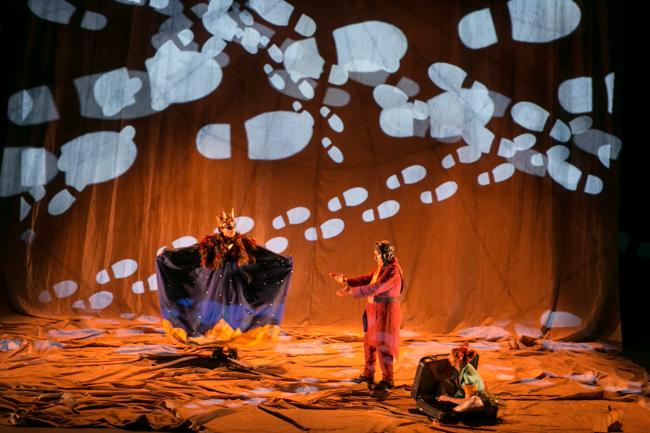 La Principita es una relectura del famoso libro El principito de la mano del Teatro Clásico de Sevilla en el Teatro Sierra de Aracena, Navidades 2020