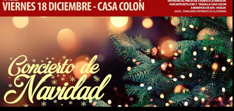Concierto de Navidad, Banda sinfónica municipal de Huelva, bajo la dirección De Francisco de la Poza, Navidad 2020