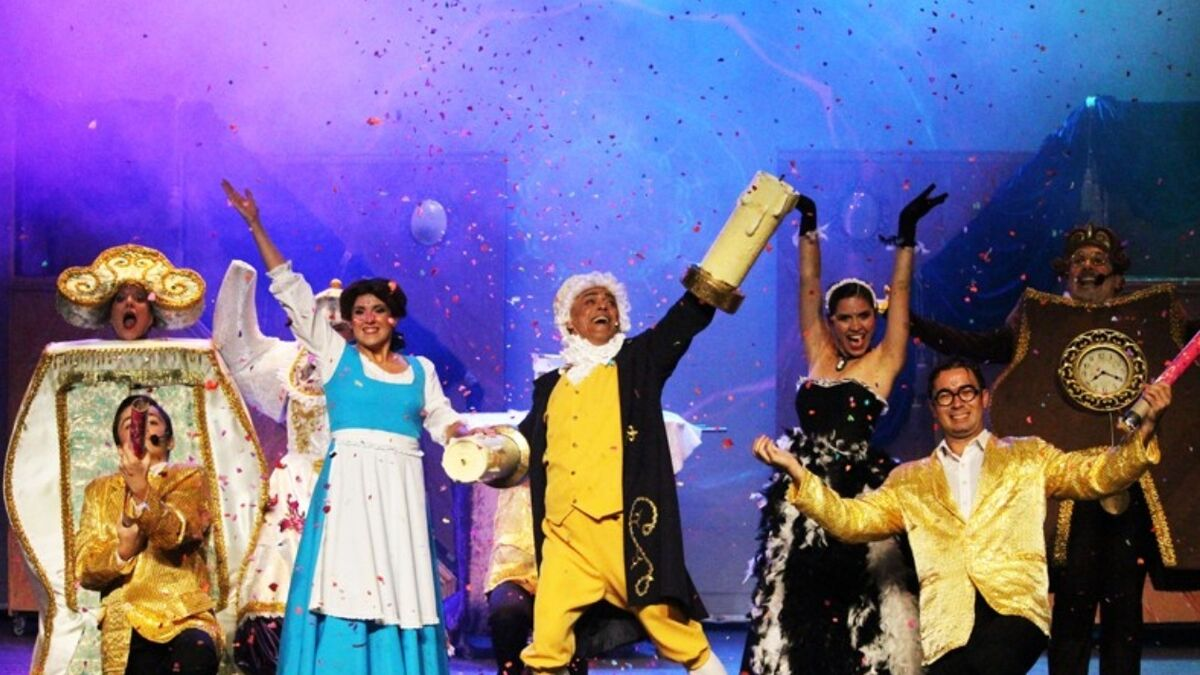La Bella y la Bestia, el musical llega a Trigueros, Huelva