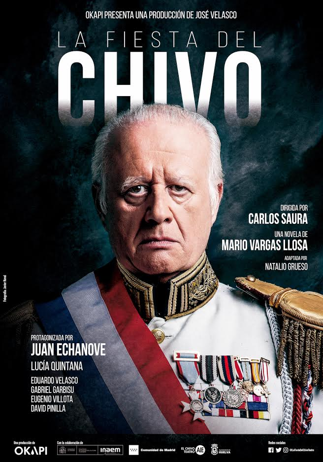la fiesta del chivo Juan Echanove Carlos Saura Huelva 2021 Teatro