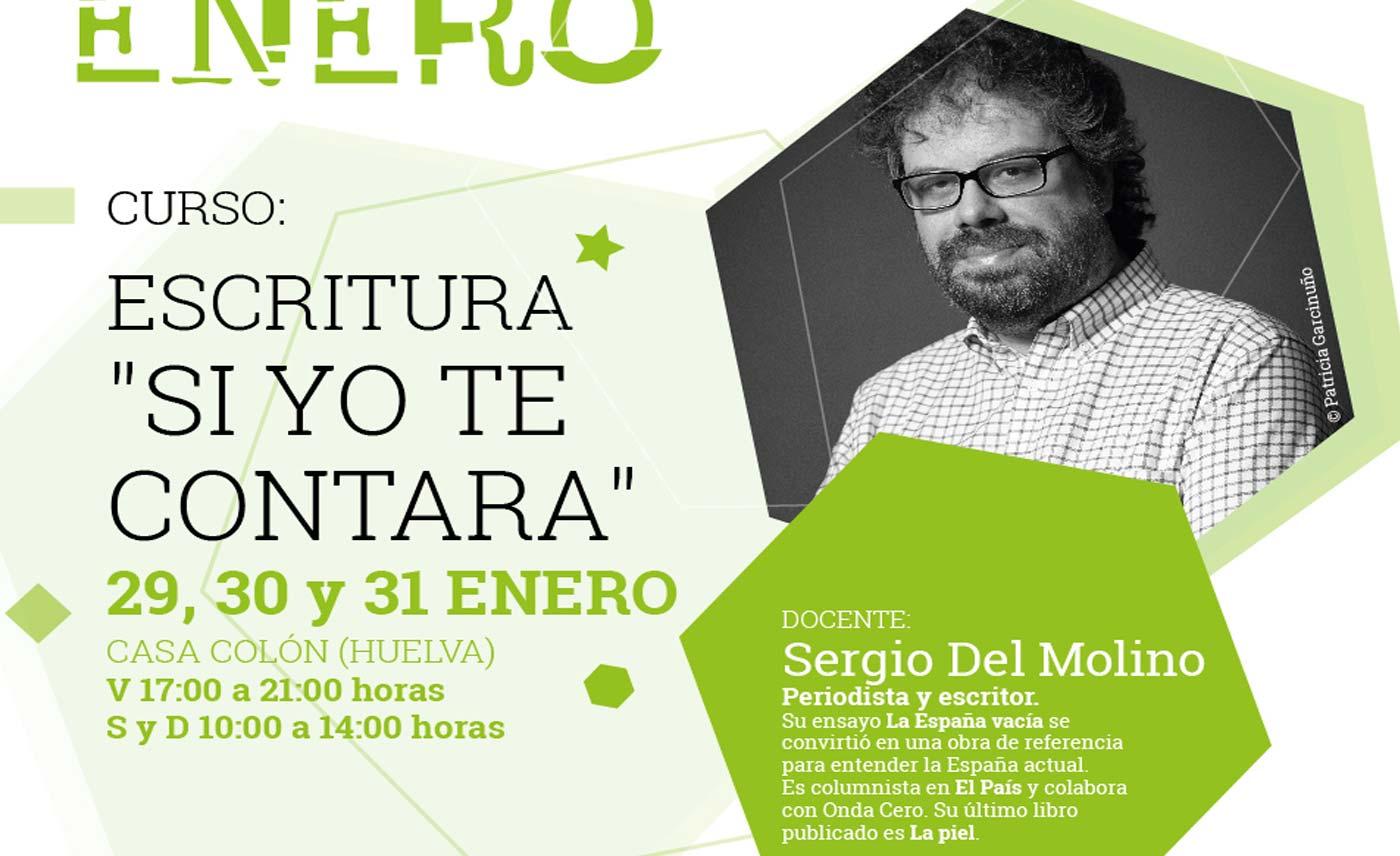 Curso Taller de escritura enero 2021 Huelva autores Ayuntamiento