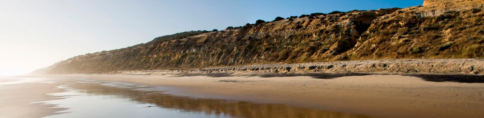 Playa de Cuesta Maneli Matalascañas Mejores playas de Huelva