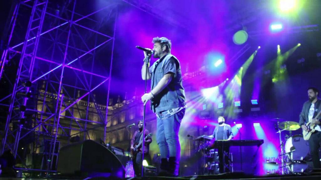Concierto Antonio Orozco, Aviónica Tour en Huelva en la plaza de toros